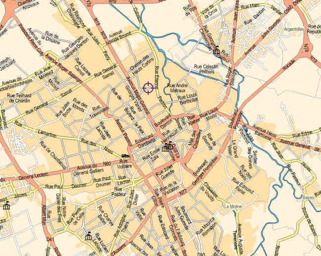 Plan Troyes